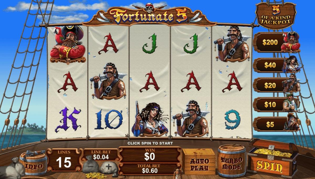 fortunate-five-playtech-casino-slots